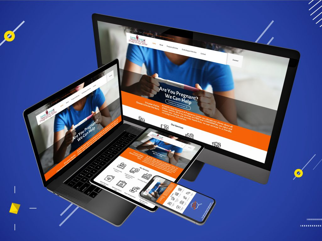 Responsive Display for Family Hope Resource & Pregnancy Center