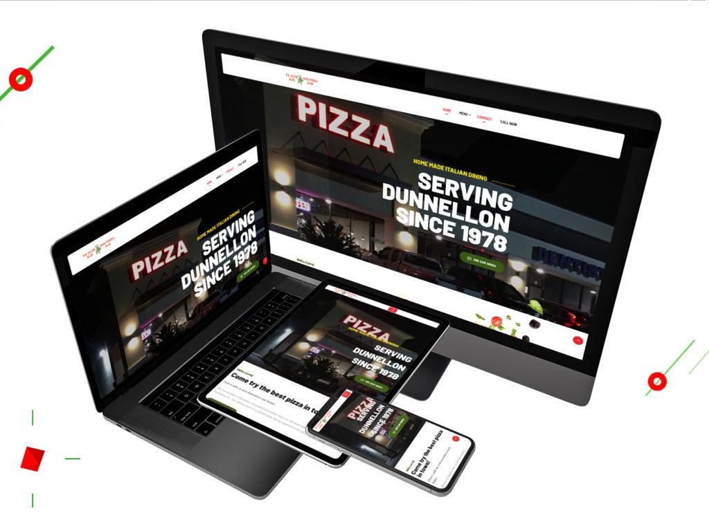 Responsive Design of Ye Olde Sub & Pizza Pub